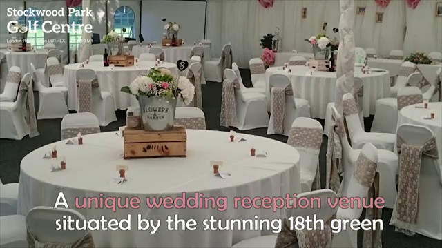 Wedding Receptions Stockwood Park Golf Centre Luton Stockwood