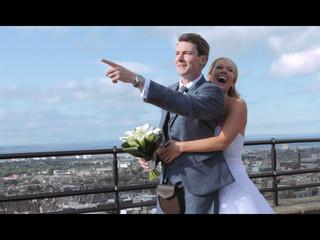 Samantha & Hamish's Edinburgh Castle Wedding