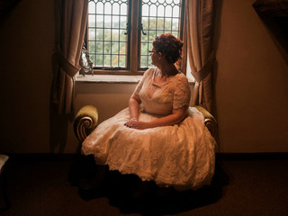Tracey & Charis wedding at Crook Hall and Gardens