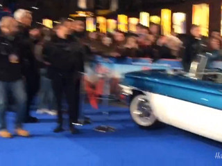 Oldsmobile steals the show at Leicester Sq film premiere