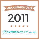 Recommended in WeddingWire