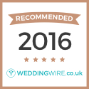 "Recommended in WeddingWire"" id="