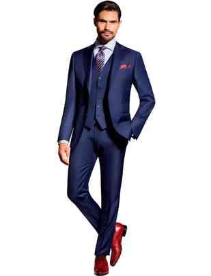 Suits Louis Purple