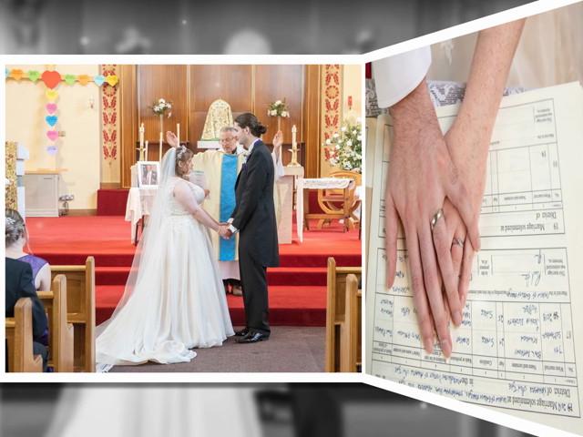 Paul and Jess's wedding in Otterburn, Northumberland 1
