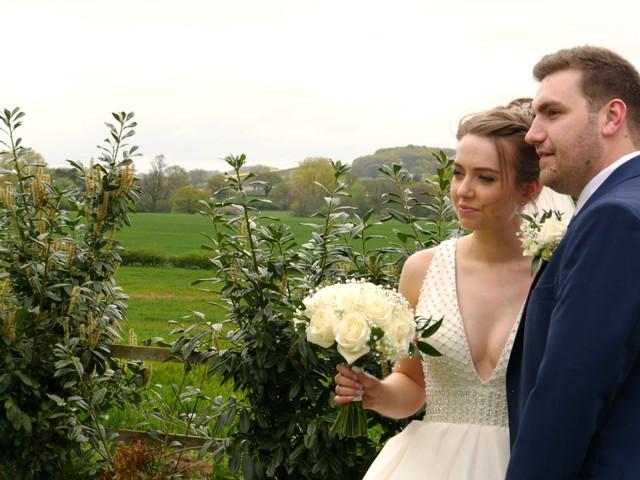John and Rachel's wedding in Trowell, Nottinghamshire 1